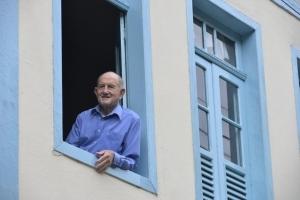 Data: 18/10/2013 - ES - Domingos Martins - Gustavo José Wernersbach, 103 anos, ex-vereador e ex-deputado estadual - Editoria: Política - Foto: Edson Chagas - GZ