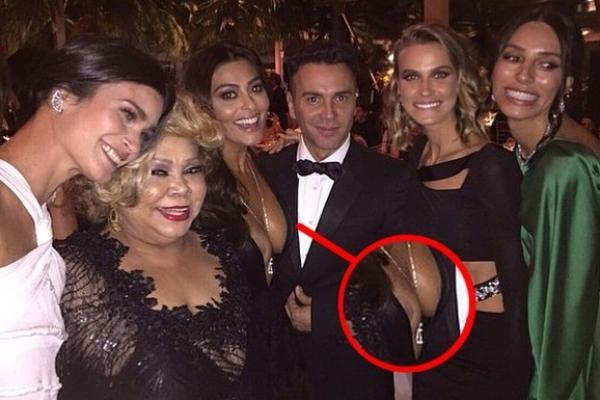 Juliana Paes Usa Decote Profundo E Seio Vaza Em Foto A Gazeta