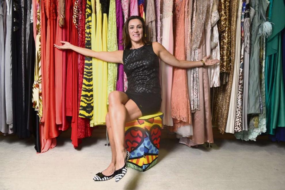 1b09465f84 Carol Calheiros compra a maioria de seus vestidos em Belo Horizonte e