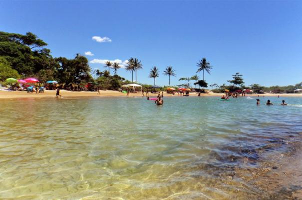 Três Praias, em Guarapari