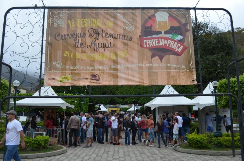 Cerveja na Praça - Festival de Cerveja Artesanal de Muqui
