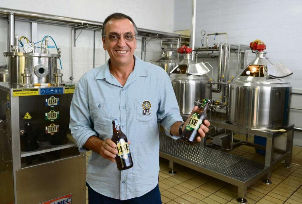José Olavo Medici Macedo, dono da cervejaria Else Beer