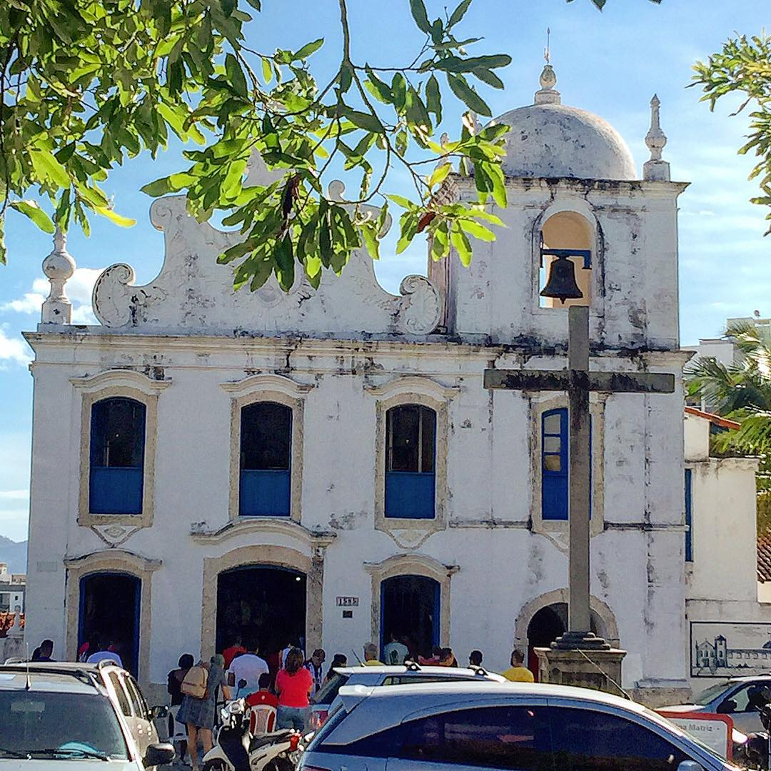 Guarapari, 126: <aspas>Minha alma engrandece ao Senhor, meu espírito se alegra a Deus, meu Salvador!<aspas>, disse michellirbferraz ao visitar à Antiga Matriz De Nossa Senhora Da Conceição, em Guarapari