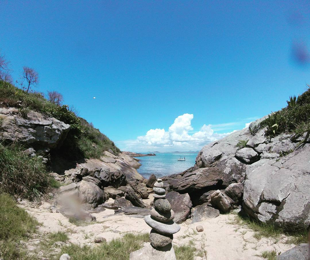 Arquipélago das Três Ilhas, em Guarapari