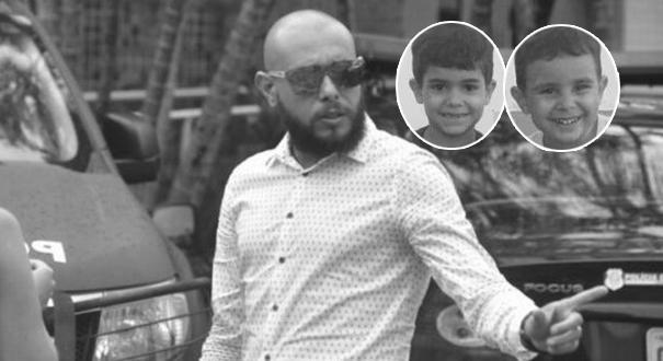 George Alves estuprou e matou o enteado, Kauã, 6, e o filho Joaquim, 3
